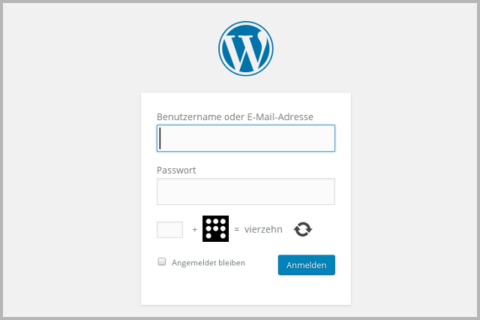 wordpress screensho